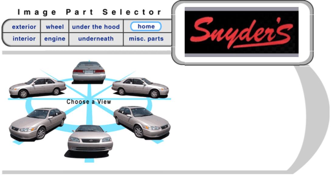 Snyder's Auto Body Image Parts Selector
